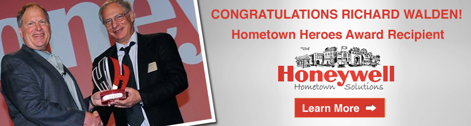 BANNER: Honeywell Hometown Award