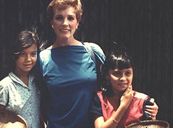 Julie Andrews & Operation USA