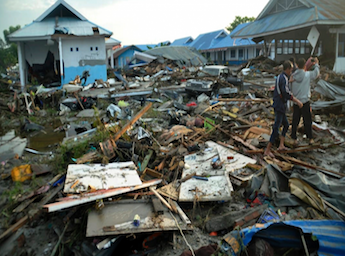 Indonesia Tsunami Response