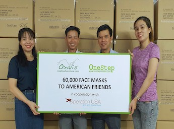 Vietnam Supports OpUSA with 2.5M Masks